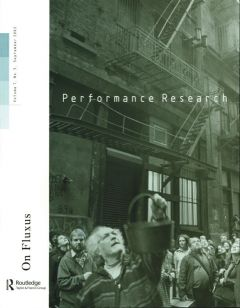 Front cover of Performance Research: Volume 7 Issue 3 - On Fluxus