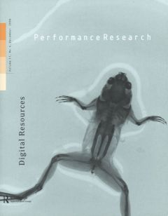 Front cover of Performance Research: Volume 11 Issue 4 - Digital Resources