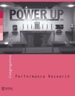 Front cover of Performance Research: Volume 13 Issue 3 - Congregation