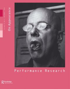 Front cover of Performance Research: Volume 13 Issue 4 - On Appearance