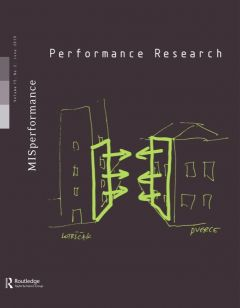 Front cover of Performance Research: Volume 15 Issue 2 - MISperformance