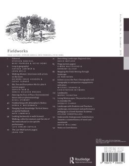 Back cover of Performance Research: Volume 15 Issue 4 - Fieldworks