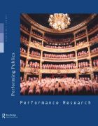 Front Cover of Performance Research: Volume 16 Issue 2 - Performing Publics
