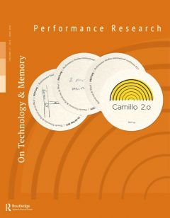 Front cover of Performance Research: Volume 17 Issue 3 - On Technology & Memory