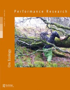 Front cover of Performance Research: Volume 17 Issue 4 - On Ecology