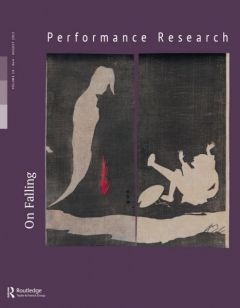 Front cover of Performance Research: Volume 18 Issue 4 - On Falling