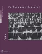 Front Cover of Performance Research: Volume 18 Issue 6 - On Ice