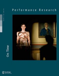 Front cover of Performance Research: Volume 19 Issue 3 - On Time