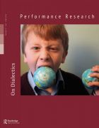 Front Cover of Performance Research: Volume 21 Issue 3 - On Dialectics