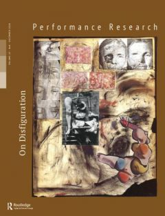 Front cover of Performance Research: Volume 23 Issue 8 - On Disfiguration