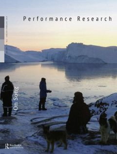 Front cover of Performance Research: Volume 24 Issue 1 - On Song