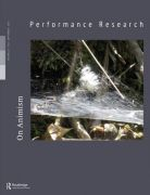 Front Cover of Performance Research: Volume 24 Issue 6 - On Animism