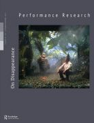 Front Cover of Performance Research: Volume 24 Issue 7 - On Disappearance